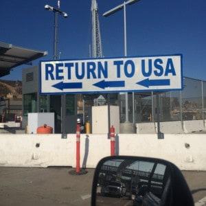 Strange premonition entering mexico